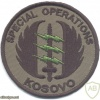 KOSOVO Special Operations sleeve patch img27824