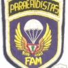 MEXICO Air Force Paratroopers Brigade parachute badge, 1970s
