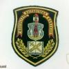 Belarus border guard school patch