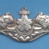 JAPAN Maritime Self-Defense Force Submarine qualification badge, Enlisted