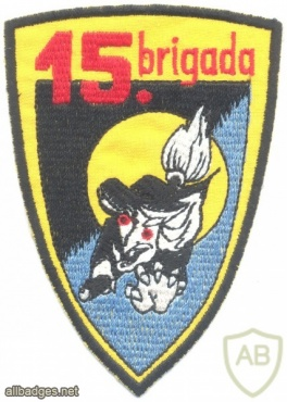 SLOVENIA Air Force 15th Aviation Brigade sleeve patch img31081