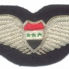 IRAQ Air Force Pilot wings, bullion