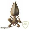 GDF cap badge, metal