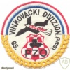 "CROATIA Army 65th Air Defence ""Vinkovački"" Battalion sleeve patch, 1990s"