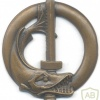 FRANCE Army Underwater Intervention Specialist Diver qualification badge