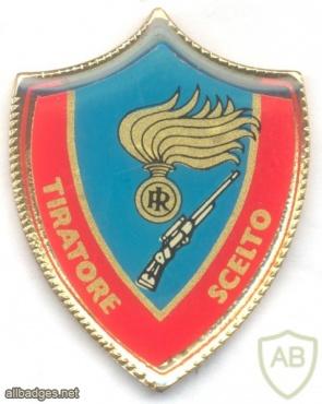 ITALY Carabinieri Sniper pocket badge img33114
