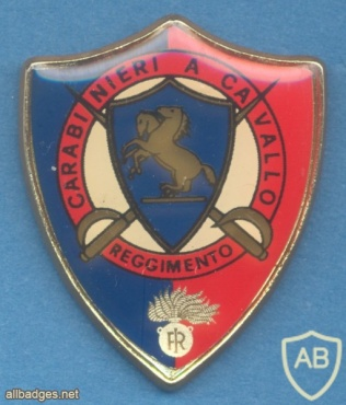 ITALY 4th Carabinieri Cavalry Regiment pocket badge img33115