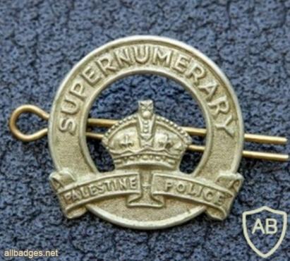 נוטר - קדם לסמל הכובע של הגאפיר- משטרת הישובים העבריים img33474