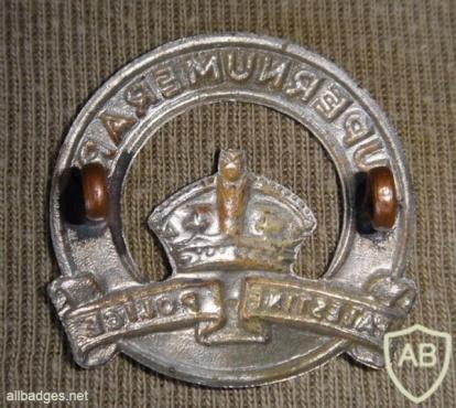 נוטר - קדם לסמל הכובע של הגאפיר- משטרת הישובים העבריים img33477