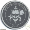 BRAZIL Federal District Military Police - Special Operations Battalion (BOE) Unit badge, rubber img33733