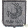 BRAZIL Air Force Airborne Rescue Squadron (Para-SAR) patch, grey