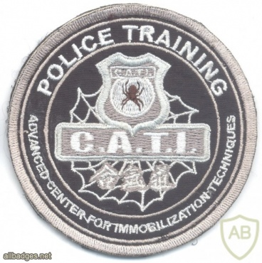 BRAZIL Advanced Center for Immobilization Techniques CATI Police Training patch img33742