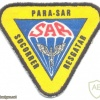 BRAZIL Air Force Airborne Rescue Squadron (Para-SAR) patch, full color