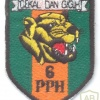 MALAYSIA Royal Police Field Force (PPH) 6th Battalion sleeve patch
