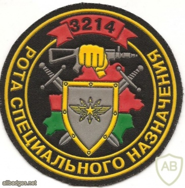 Patch of the special communication company of the 1st Battalion of the 3rd separate Red Banner Special Forces Brigade of the Internal Troops of the Ministry of Internal Affairs of Belarus img34882