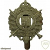 5th City of The London Regiment (London Rifle Brigade) cap badge, King's crown, after WWI