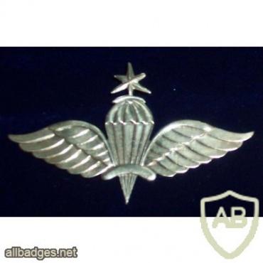 ETHIOPIA Parachutist wings, Senior img35964