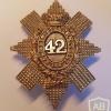 42nd (Royal Highland) Regiment of Foot cap badge, glengarry