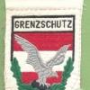 AUSTRIA Army (Bundesheer) - Border Guard sleeve patch, post- 1968