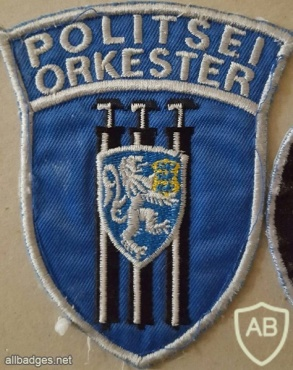 Estonia Police Orchestra arm patch img36688