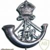 13th Frontier Force Rifles cap badge, King's crown img36750