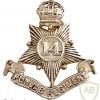 14th Punjab Regiment cap badge, King's crown img36751