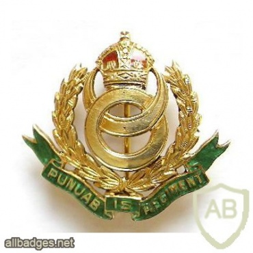 15th Punjab Regiment cap badge img36782