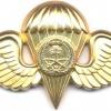 SAUDI ARABIA Army Parachute qualification wings, Class IV, Gold, 1979-1980