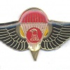 "IRAQ Republican Guard ""Thunder""  Parachute wings, red and black, pre-1991"