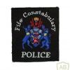Scotland - Fife Constabulary patch, type 2