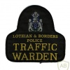 Scotland - Lothian and Borders Police Traffic Warden arm patch