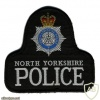 England - North Yorkshire Police arm patch