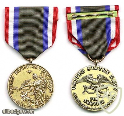 Cuban Pacification Navy Medal img38130