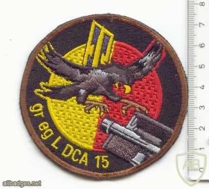 SWITZERLAND 15th AA Group of guided missiles, 2nd Battery patch img38471