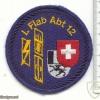 SWITZERLAND 12th Light AA Unit, Staff battery patch