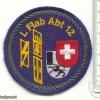 SWITZERLAND 12th Light AA Unit, 1st battery patch