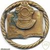 LITHUANIA Navy Scuba Diving School badge, III Class