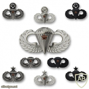 Army Combat Parachutist Badges img40493