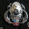 Peru Navy Senior diver badge  (silver)
