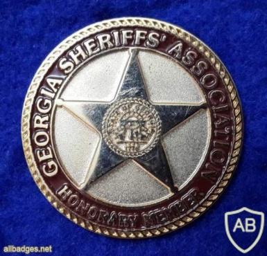 Georgia Sheriff's Association - Honorary Member badge img40766