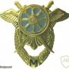 Ukrainian Air Force Logistics qualification badge -Master, after 2005