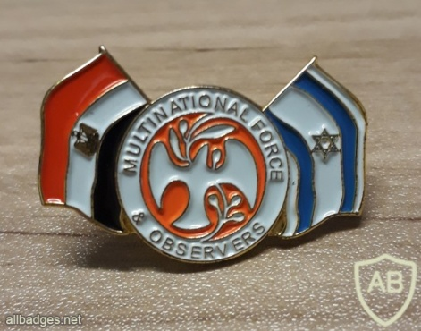 multinational force & observers lapel pin img42282