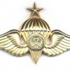 SAUDI ARABIA Army Parachute qualification wings, Class III, Gold, 1979-1980