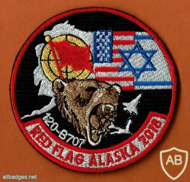 RED FLAG - ALASKA- 2018 הטייסת הבינלאומית - טיסת- 120 B-707   img44629