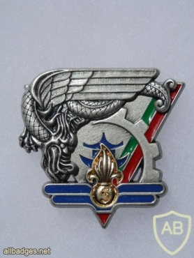 French Foreign Legion 2nd Parachute Regiment 5th Maintenance Company pocket badge, type 1 img44868
