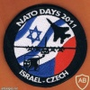 NATO Days in Ostrava 2011 airshow patch, Israeli delegation