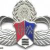 TAIWAN Army Special Terrain Parachutist qualification badge, 1963-1998