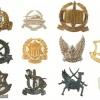 Ten Cap Badges – IDF Units – I