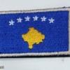 KOSOVO Army  flag sleeve patch img48016
