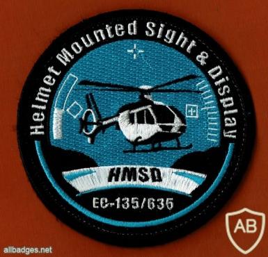 HMSD - מערכת משוכללת לתצוגה עילית על משקף הקסדה img49797